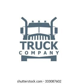 monochrome-truck-vector-logo-delivery-260nw-333087602